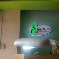 Photo taken at Elite Nails - Hand, Foot and Body Spa by Anna P. on 7/29/2014