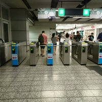 Photo taken at MTR Kowloon Bay Station by Yuichi on 10/5/2016