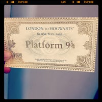 Photo taken at Platform 9¾ by Dylan F. on 5/5/2013