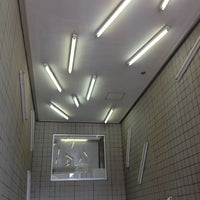 Photo taken at Hanzomon Line Kiyosumi-shirakawa Station (Z11) by chika on 8/15/2012