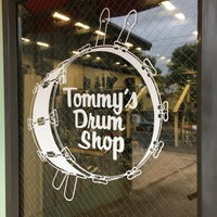 Photo taken at Tommy's Drum Shop by Carlos d. on 10/22/2015