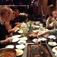Photo taken at Shilla Korean Barbecue by Mazuk T. on 3/16/2013
