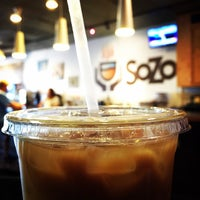 Photo taken at SoZo Coffeehouse by Tom S. on 2/14/2015
