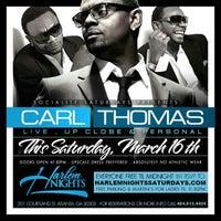 Photo taken at Harlem Nights Lounge by Raleigh J. on 3/16/2013