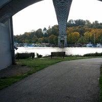 Photo taken at Burke Gilman Trail (Adobe) by DRB on 10/21/2012