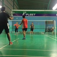 Photo taken at Pro One Badminton Centre by Khairold S. on 9/20/2016