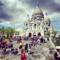Photo taken at Basilique du Sacré-Cœur de Montmartre by Pablo M. on 5/30/2013