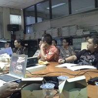 Photo taken at Dinas Perhubungan Prov. DKI Jakarta by Guruh N. on 9/21/2012