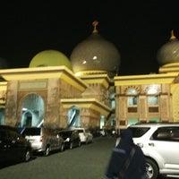 Photo taken at Masjid Agung An-Nur by Viony M. on 3/21/2015