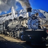 Photo taken at Durango & Silverton Narrow Gauge Railroad Co. by Mike H. on 2/16/2013