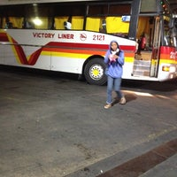 Photo taken at Victory Liner (Kamias Terminal) by Chrome M. on 2/24/2014