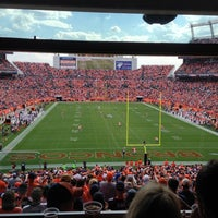 Photo taken at Sports Authority Field at Mile High by Zach W. on 9/30/2012