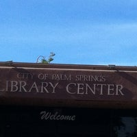 Photo taken at Palm Springs Public Library by Mei-ling A. on 12/3/2012