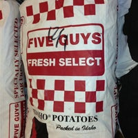 Photo taken at Five Guys by Todd M. on 12/9/2012