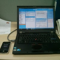 Photo taken at PT. Huawei Tech Investment by Dida T. on 2/13/2014