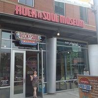 Photo taken at Rock'n'Soul Museum by John E. on 5/30/2013
