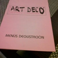 Photo taken at Art Decó by Sara O. on 11/17/2012