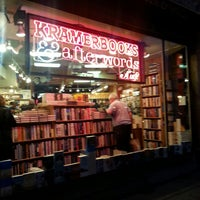 Photo taken at Kramerbooks & Afterwords Cafe by Julie J. on 7/28/2013