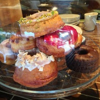 Photo taken at Dynamo Donut & Coffee by Tess C. on 2/23/2013