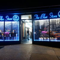 Photo taken at The Blue Store by Ali A. on 9/12/2014