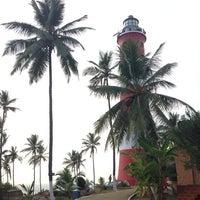 Photo taken at Vizhinjam Lighthouse by Павлик К. on 1/6/2014