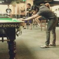 Photo taken at Club 11 Snooker & Pool by Farha A. on 3/16/2014