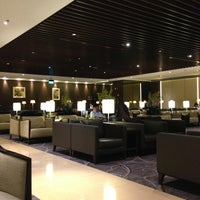 Photo taken at SIA SilverKris Lounge (Terminal 2) by Andrew M. on 1/5/2013