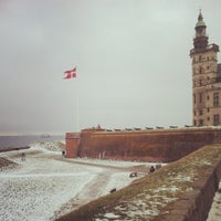Photo taken at Kronborg Castle by Denis B. on 2/17/2013