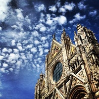 Photo taken at Duomo di Siena by Marta E. on 9/28/2012