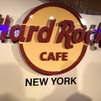 Photo taken at Hard Rock Cafe New York by henry S. on 4/1/2013