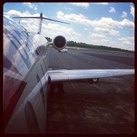 Photo taken at Bangor International Airport (BGR) by Jason R. on 7/14/2013
