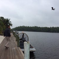 Photo taken at Jungle Erv's Airboat Tours by Faye B. on 1/8/2014