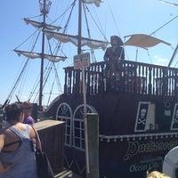 Photo taken at Duckaneer Pirate Ship by Amanda B on 7/6/2013