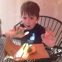 Photo taken at Dunkin Donuts by Regina G. on 4/21/2014