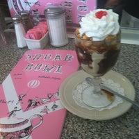 Photo taken at Sugar Bowl Ice Cream Parlor Restaurant by annie h. on 3/9/2013