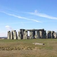 Photo taken at Stonehenge by Mayel on 3/31/2013