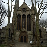Photo taken at St Mary Abbots Gardens by Rita A. on 2/6/2016