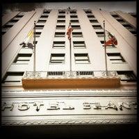 Photo taken at Hotel De Anza by J.S. C. on 11/8/2012