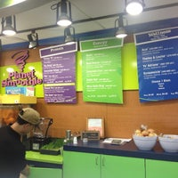 Photo taken at Planet Smoothie by Jeff P. on 1/14/2013
