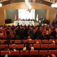 Photo taken at Üsküdar Üniversitesi Nermin Tarhan Konferans Salonu by Baybars Tolgahan Y. on 3/5/2014