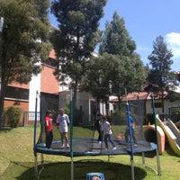 Photo taken at Colegio Británico Internacional by Rubi T. on 5/4/2013