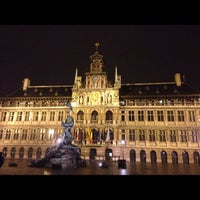Photo taken at Antwerp City Hall by Monique W. @. on 11/19/2012