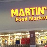 Photo taken at Martin's Food Market by David M. on 8/9/2015