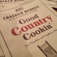 Photo taken at Cracker Barrel Old Country Store by Hallie M. on 1/11/2013