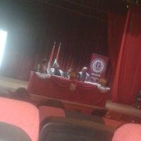 Photo taken at Teatro Municipal de San Lorenzo by VictOria R. on 9/14/2016