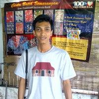 Photo taken at Kampung Batik by Edwin K. on 3/9/2012
