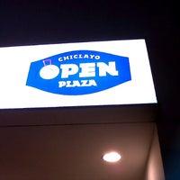 Photo taken at Open Plaza Chiclayo by Gustavo G. on 8/2/2012