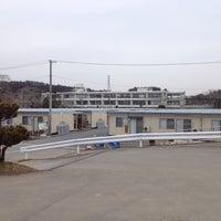Photo taken at 大谷中学校 by Daichi O. on 3/17/2012