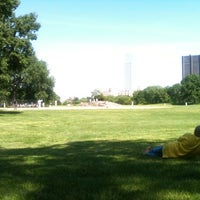 Photo taken at Central Park - North Meadow Fields 1-4 by Jincheol Dan S. on 5/18/2012