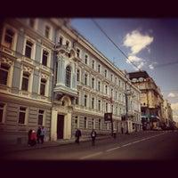 Photo taken at Улица Большая Дмитровка by Eric on 5/1/2012
